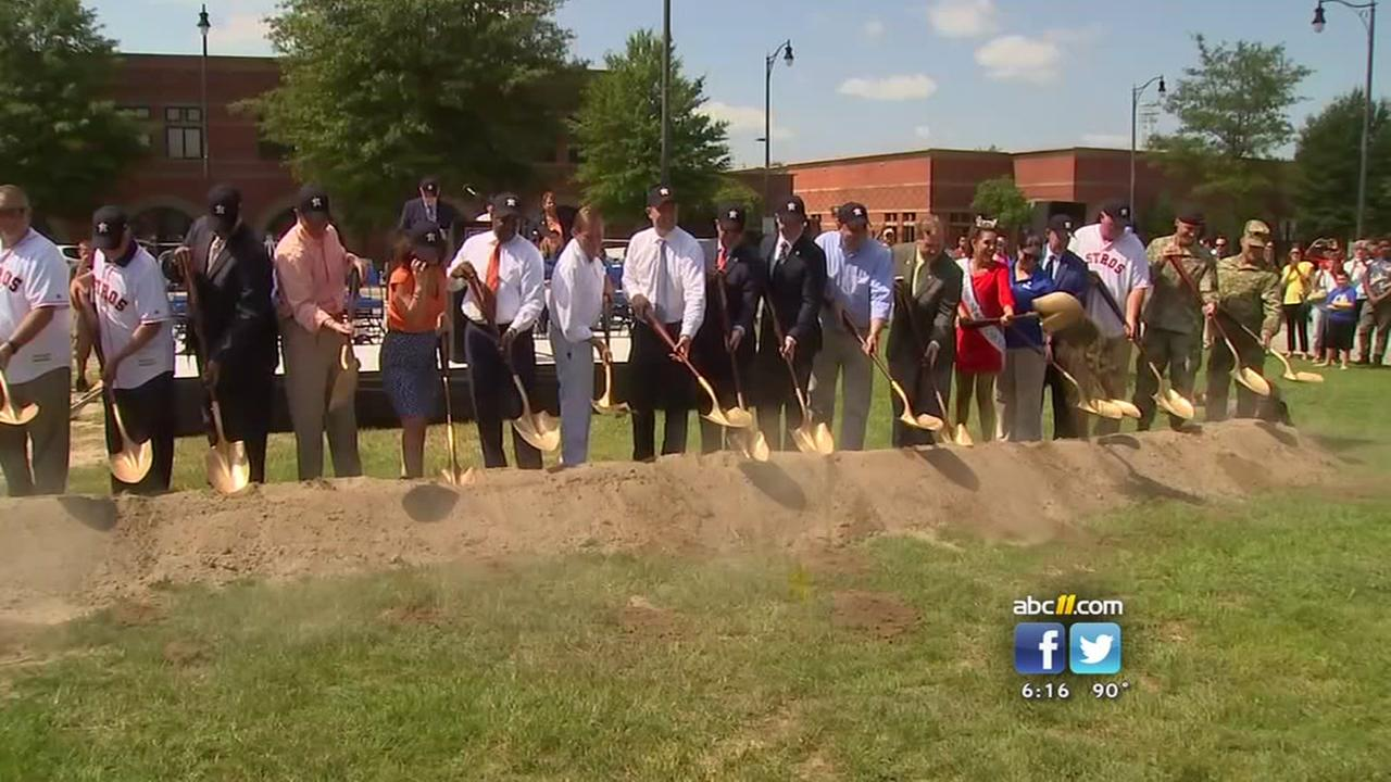 Fayetteville breaks ground for new baseball stadium