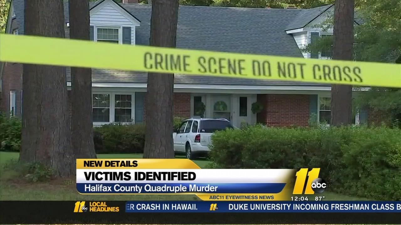 Halifax County authorities identify quadruple murder victims, reward being offered