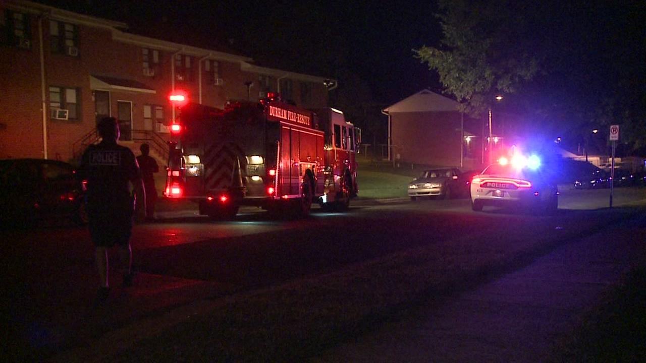 Raw video: Gas leak at McDougald Terrace