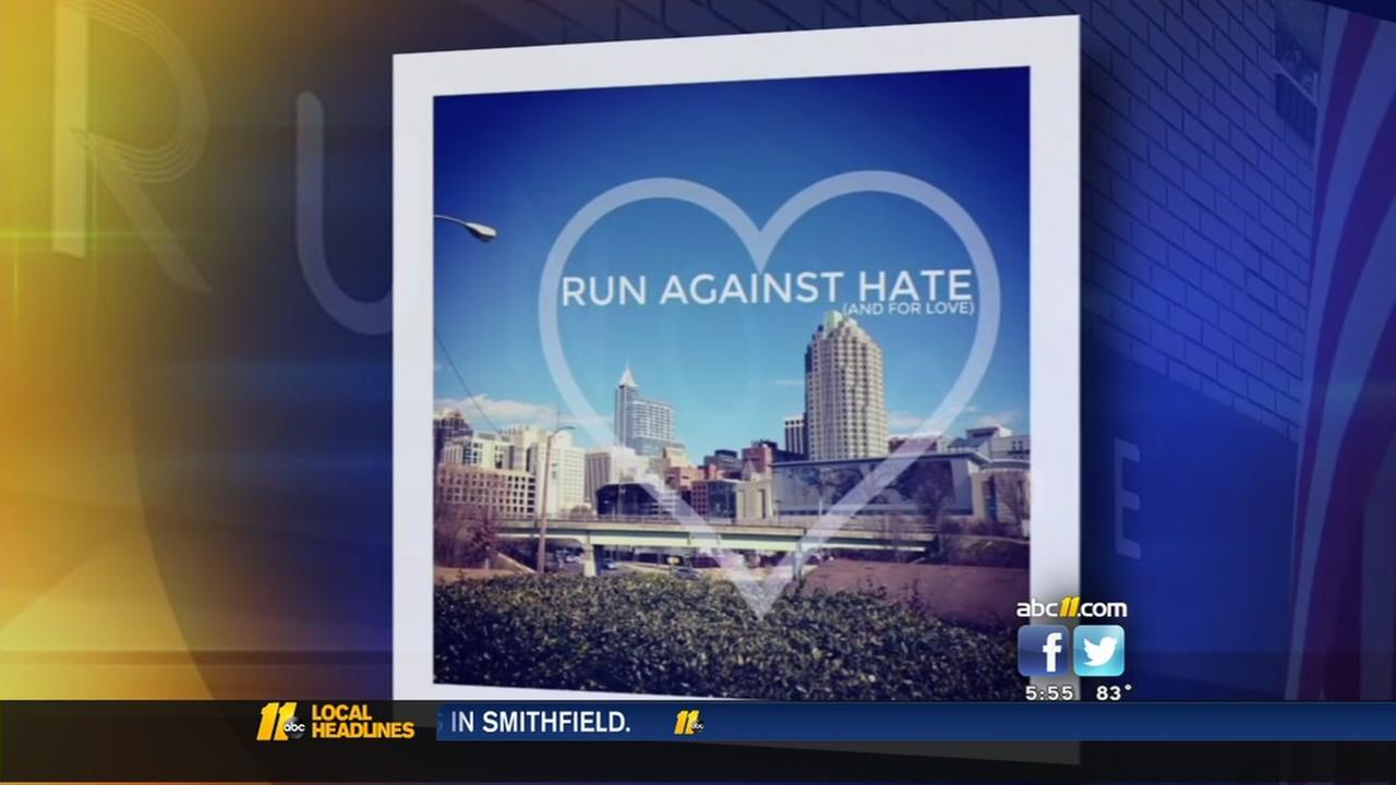 Local run club hosts Run Against Hate