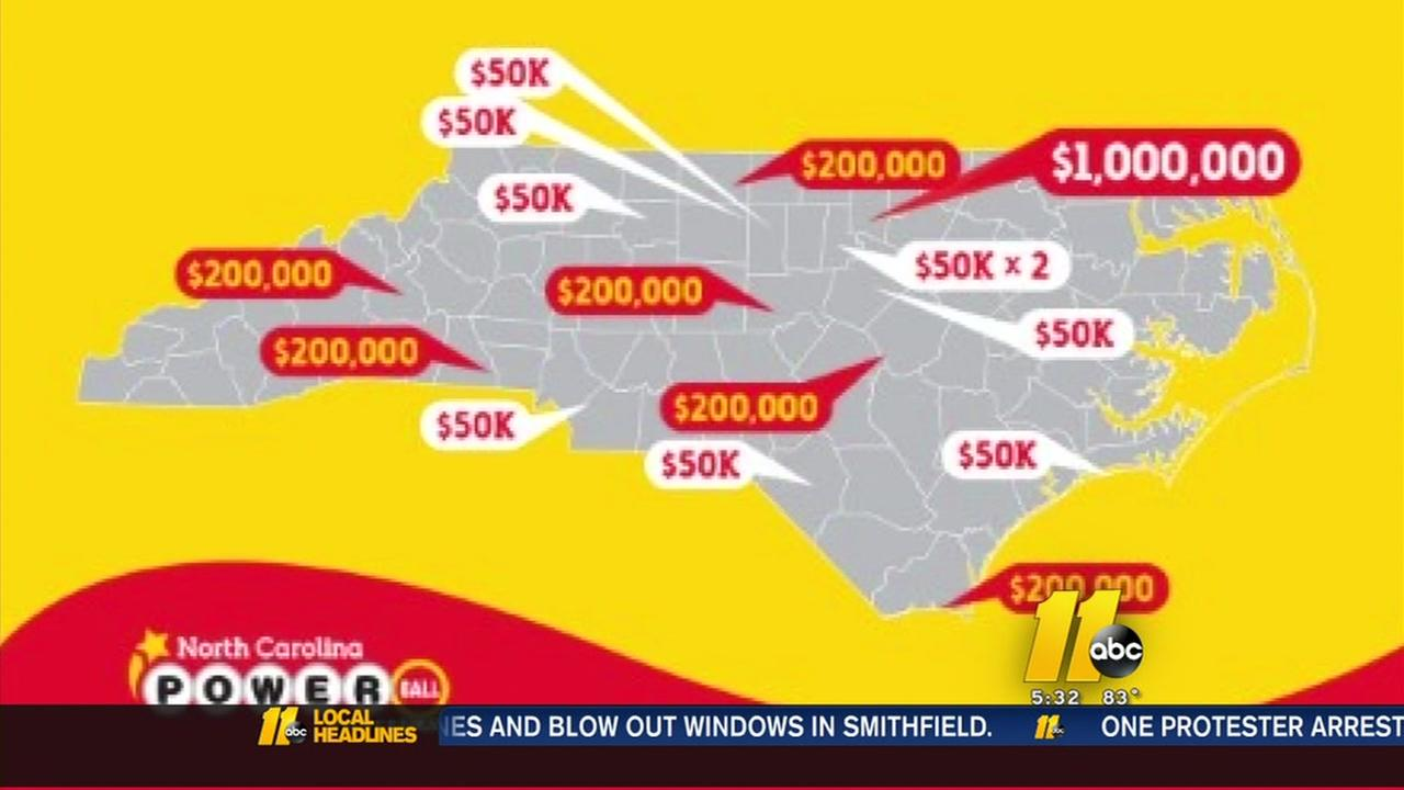 NC still had some big Powerball winners