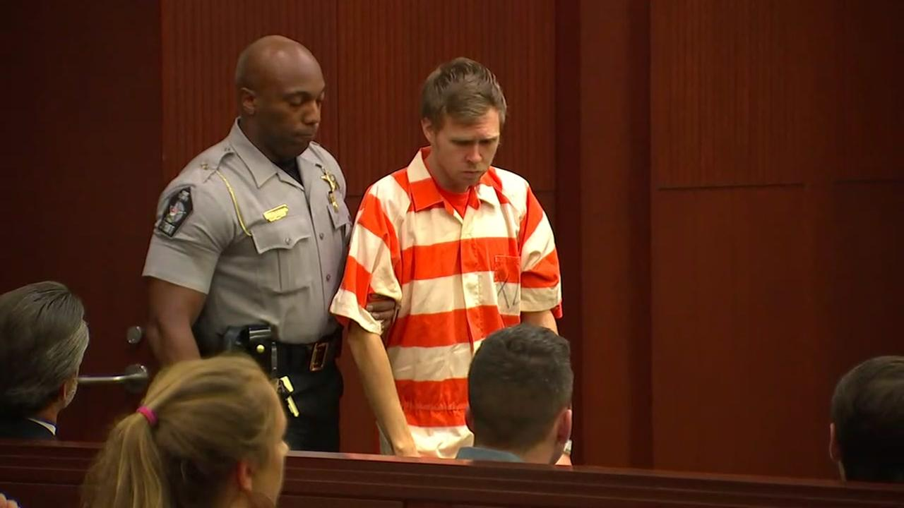 Matthew Phelps appears in court