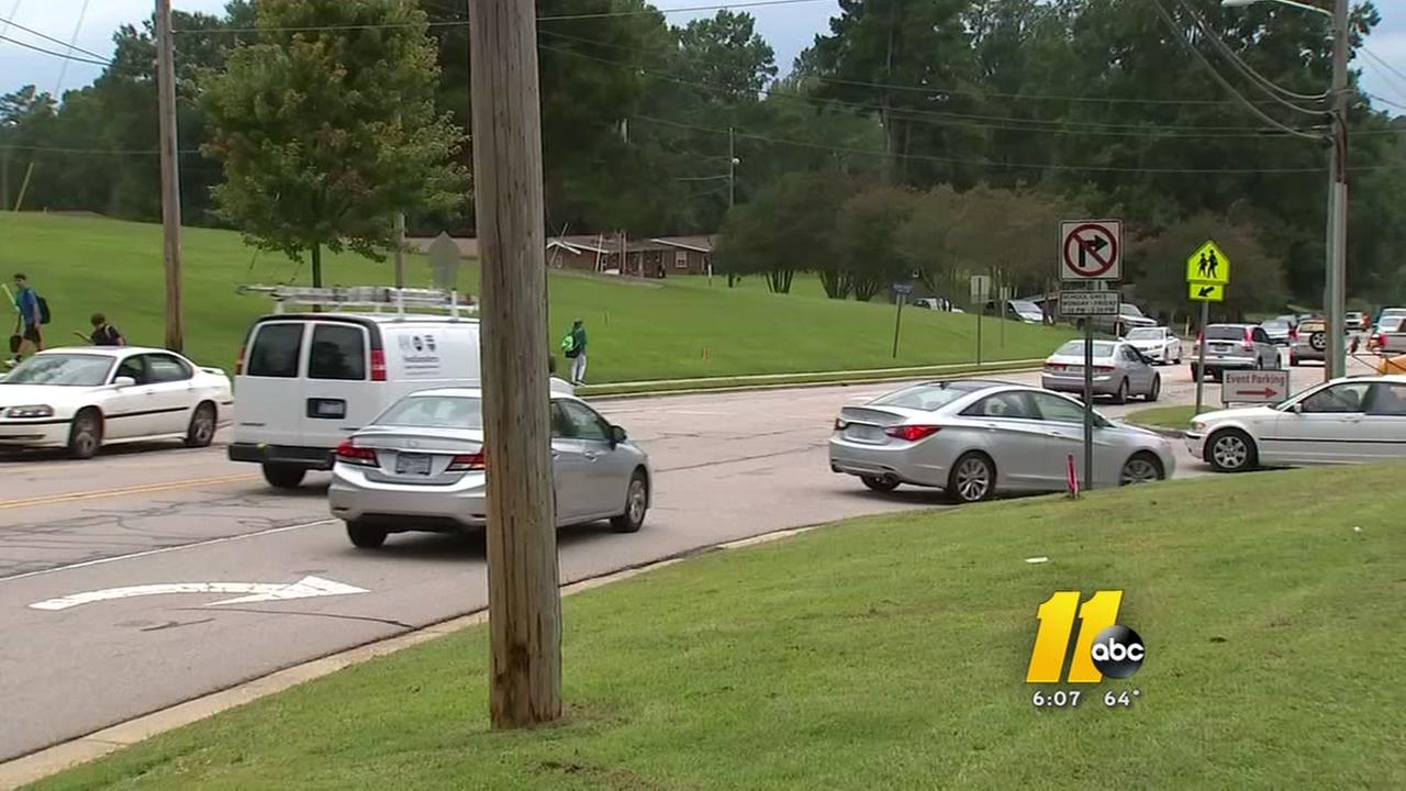 A Wake Forest teen is now facing multiple charges after police say she struck another teen with her car on the way to school.