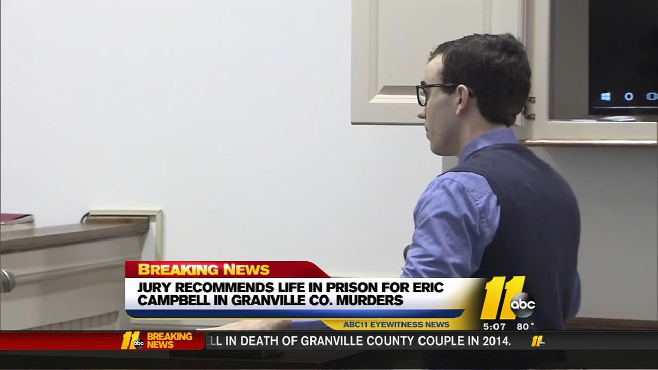 Life without parole for man who killed Granville County couple