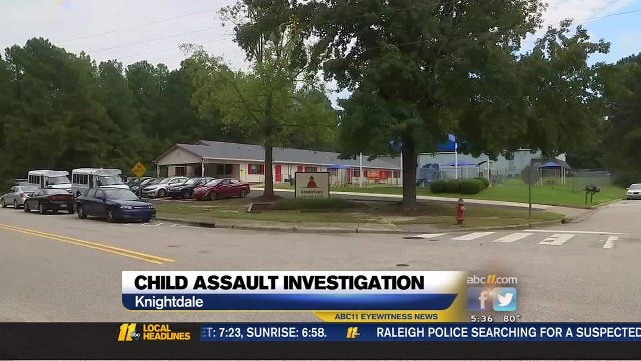 Child assault allegations against Knightdale daycare