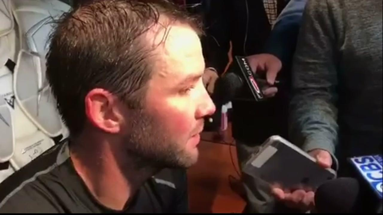Cam Ward speaks about practice and the season