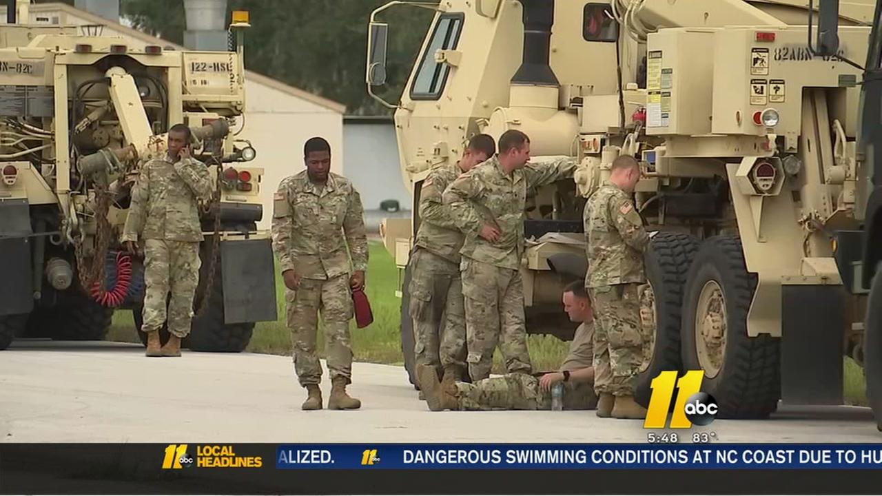 Fort Bragg soldiers help Lakeland airfield recover after Irma
