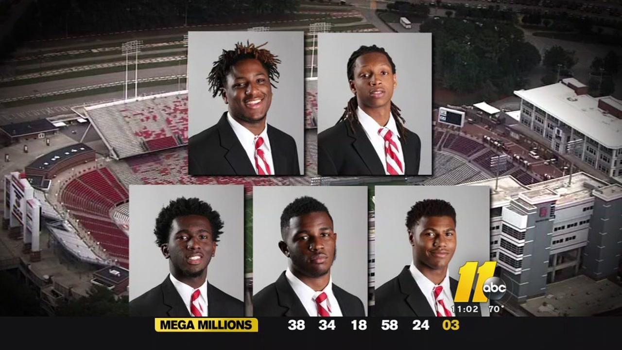 Wake DA wont pursue charges against 5 NC State students