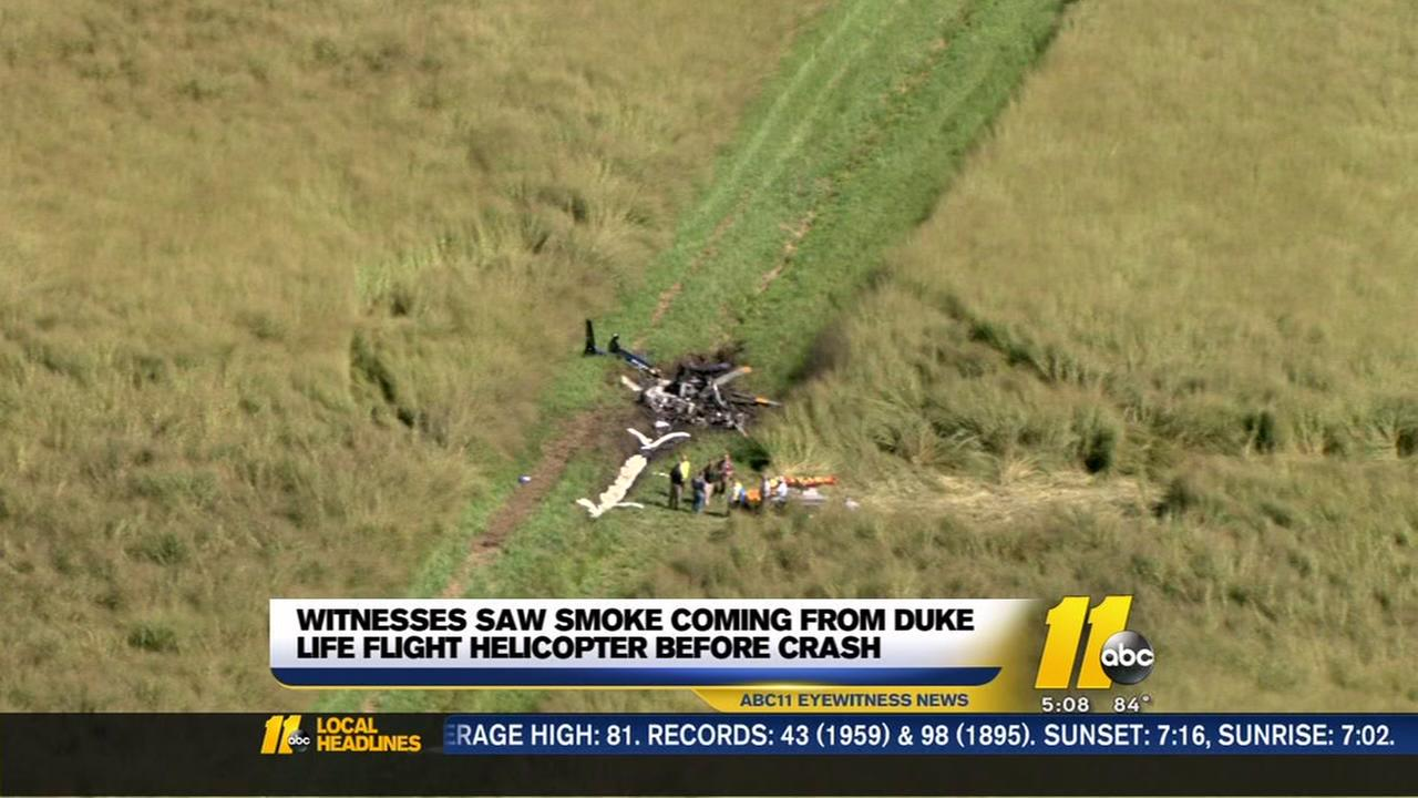 Report released on Duke Life Flight crash