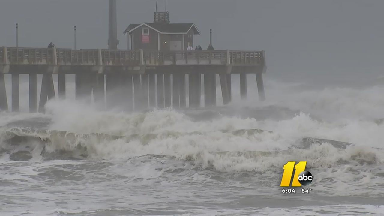 Hurricane Joses effects felt on Outer Banks