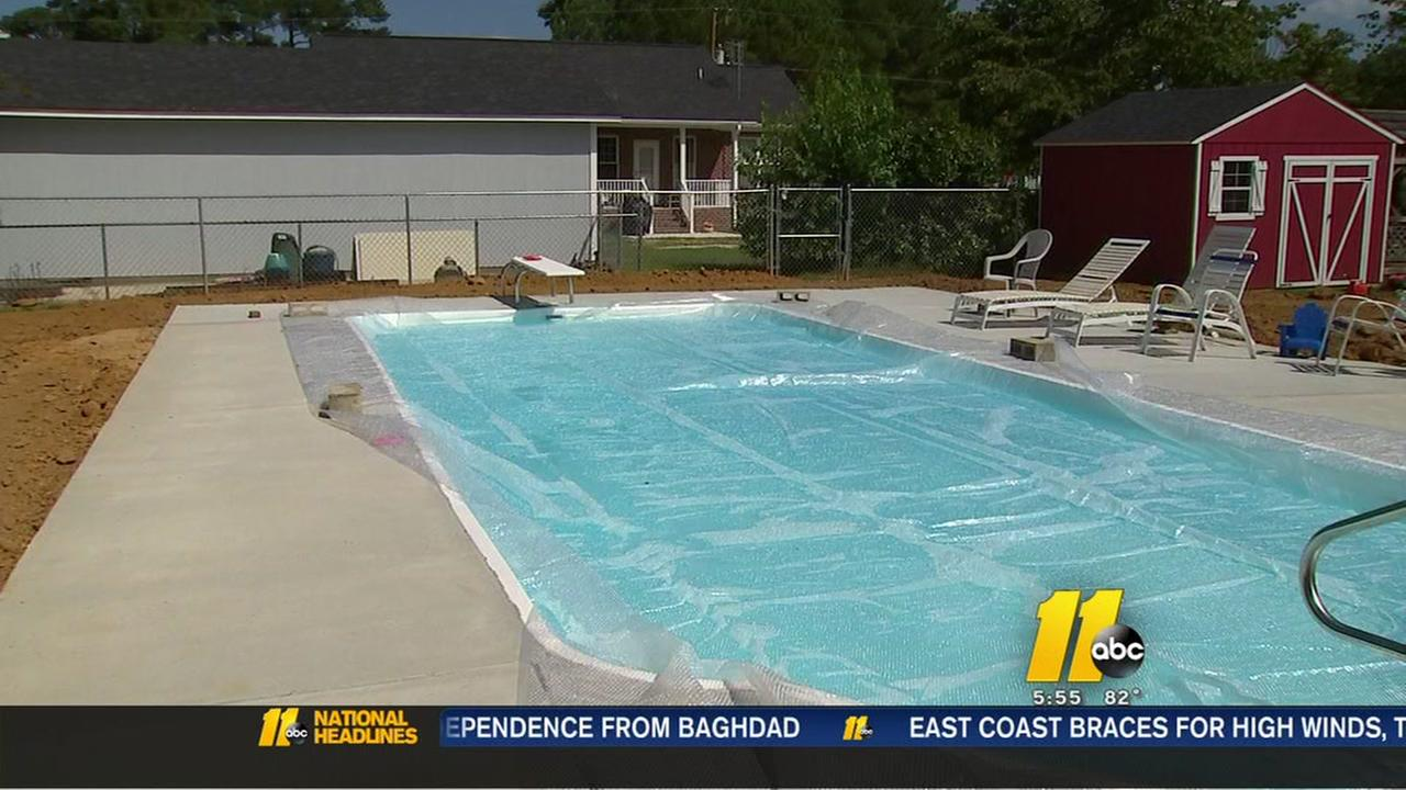 A swimmer pool ordeal for homeowner