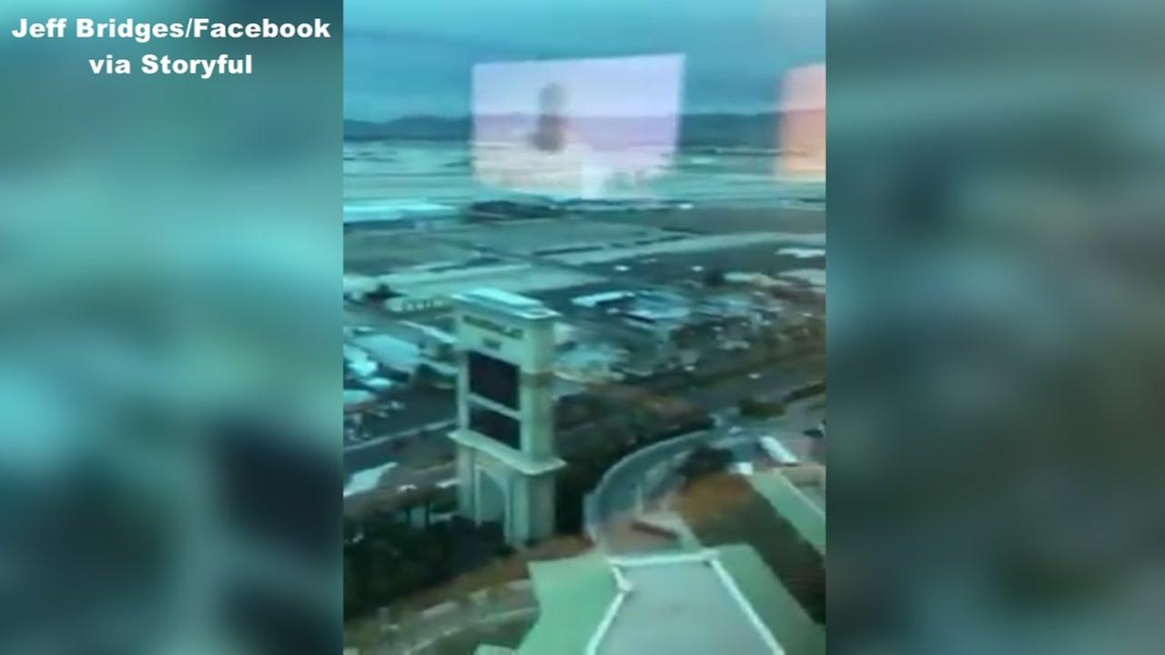NC man gives eerie tour of Vegas shooters hotel room