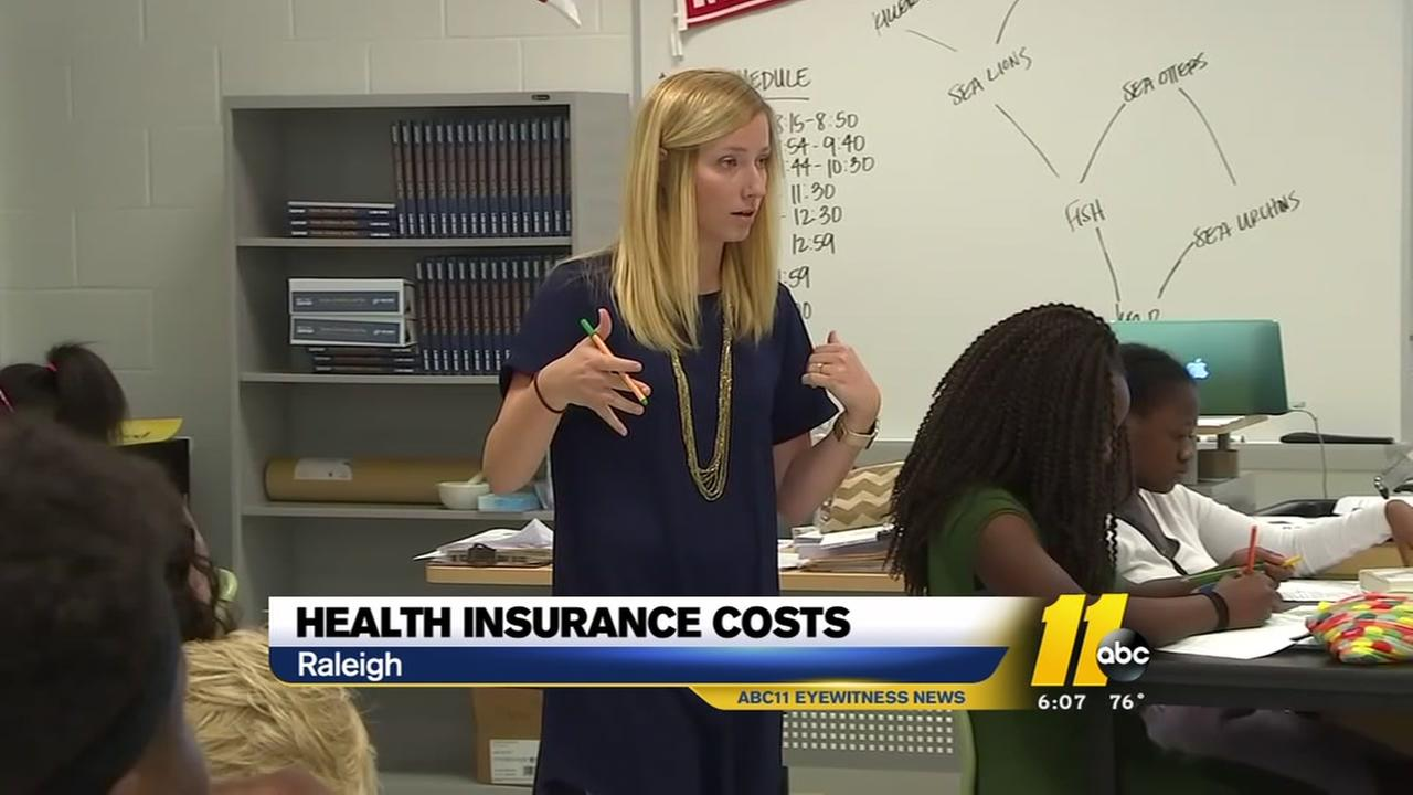 Health insurance premiums rising for state workers