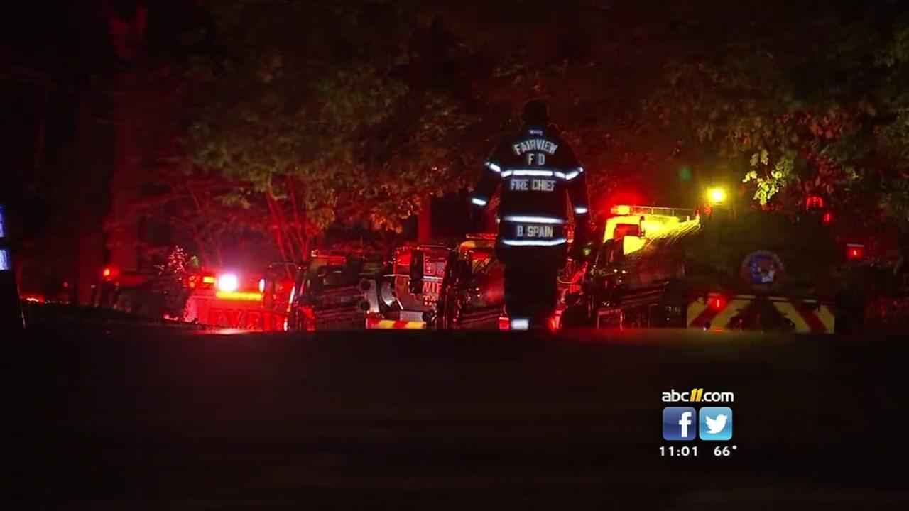 Fire destroys Cary home