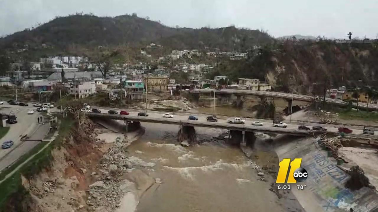 Triangle community helps Hurricane Maria victims in Puerto Rico and US Virgin Islands