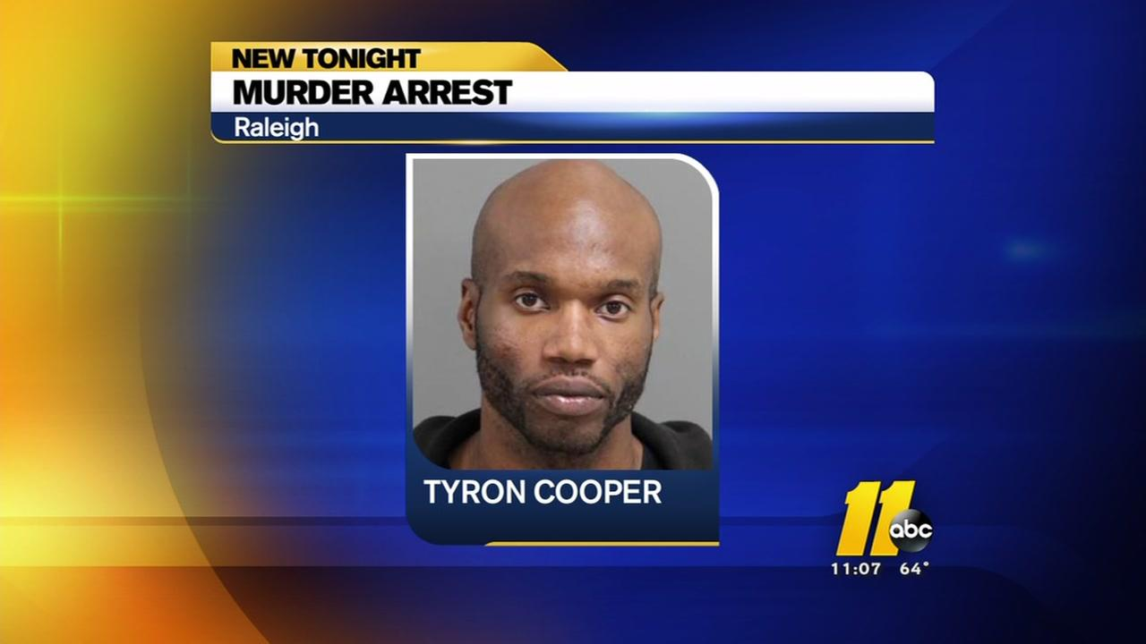 Arrest made in Raleigh murder