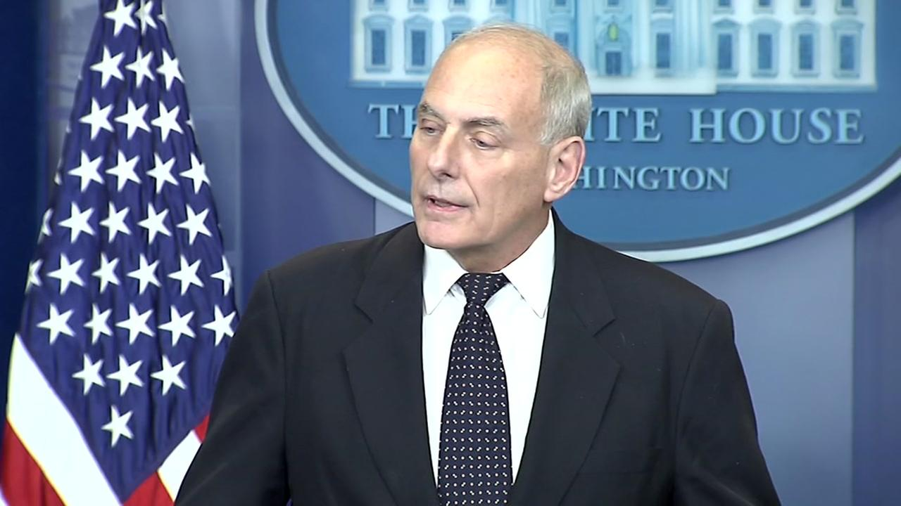 John Kelly on calls to soldiers