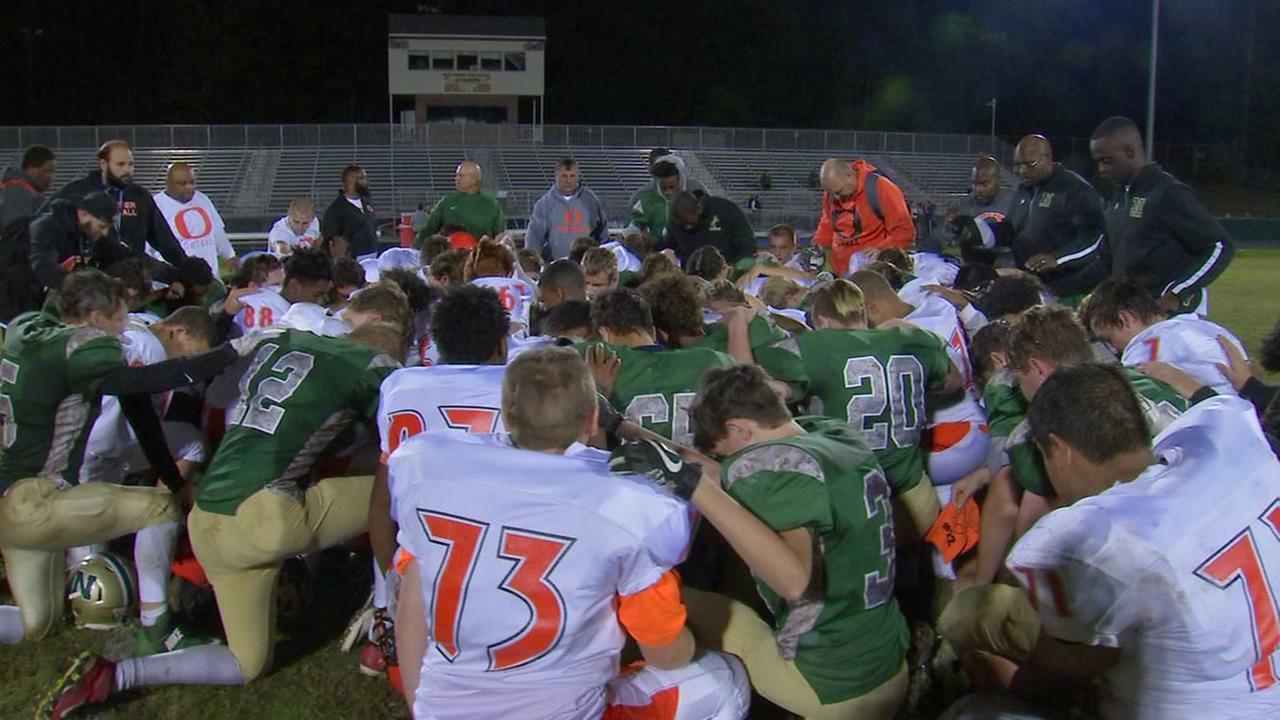 Teams unite to help injured Orange HS player