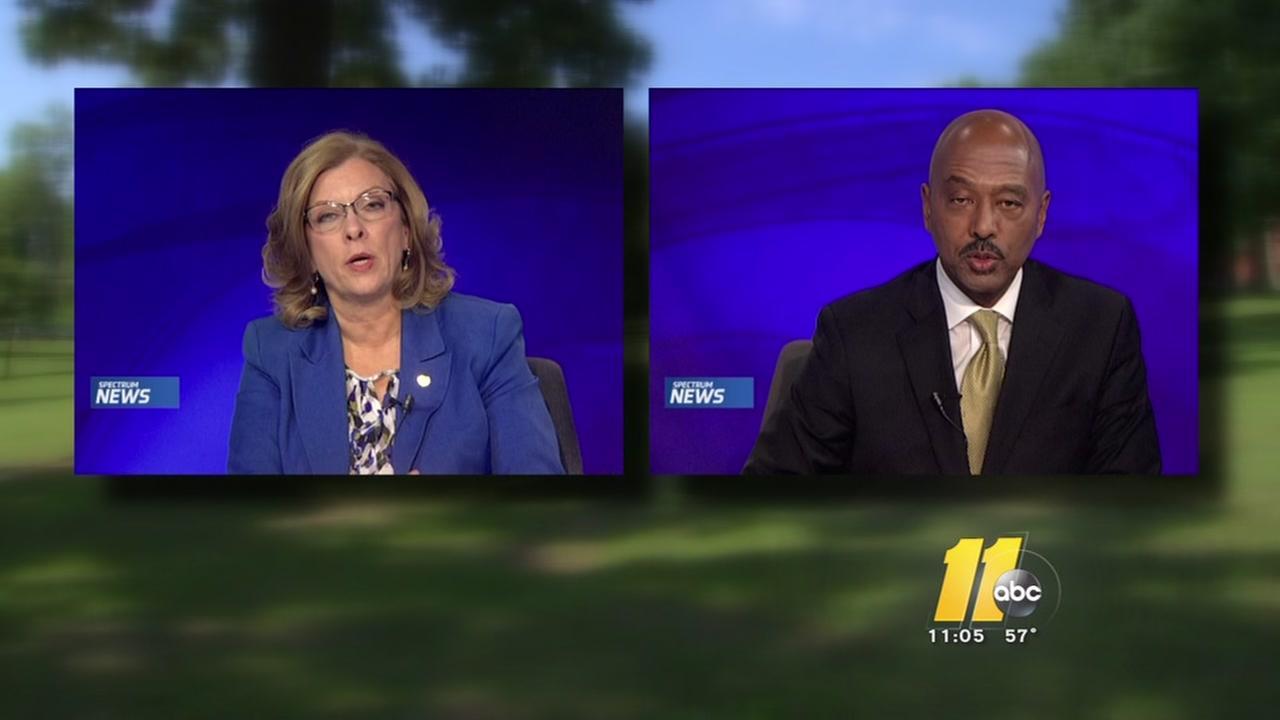 Mayoral hopefuls engage in testy debate