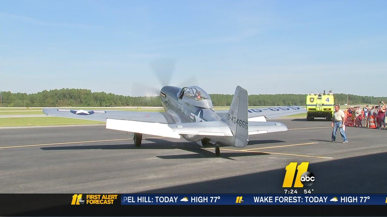 WWII planes at RDU