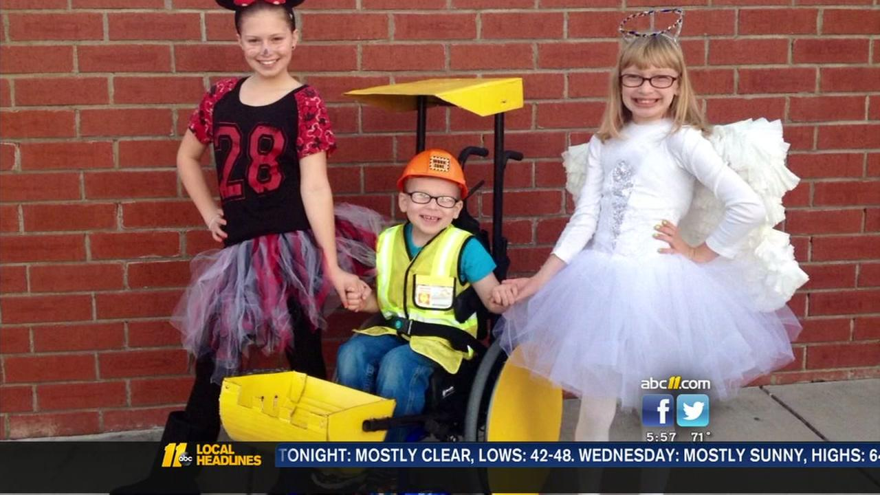 NC Home Depot manager pays for disabled boys Halloween costume