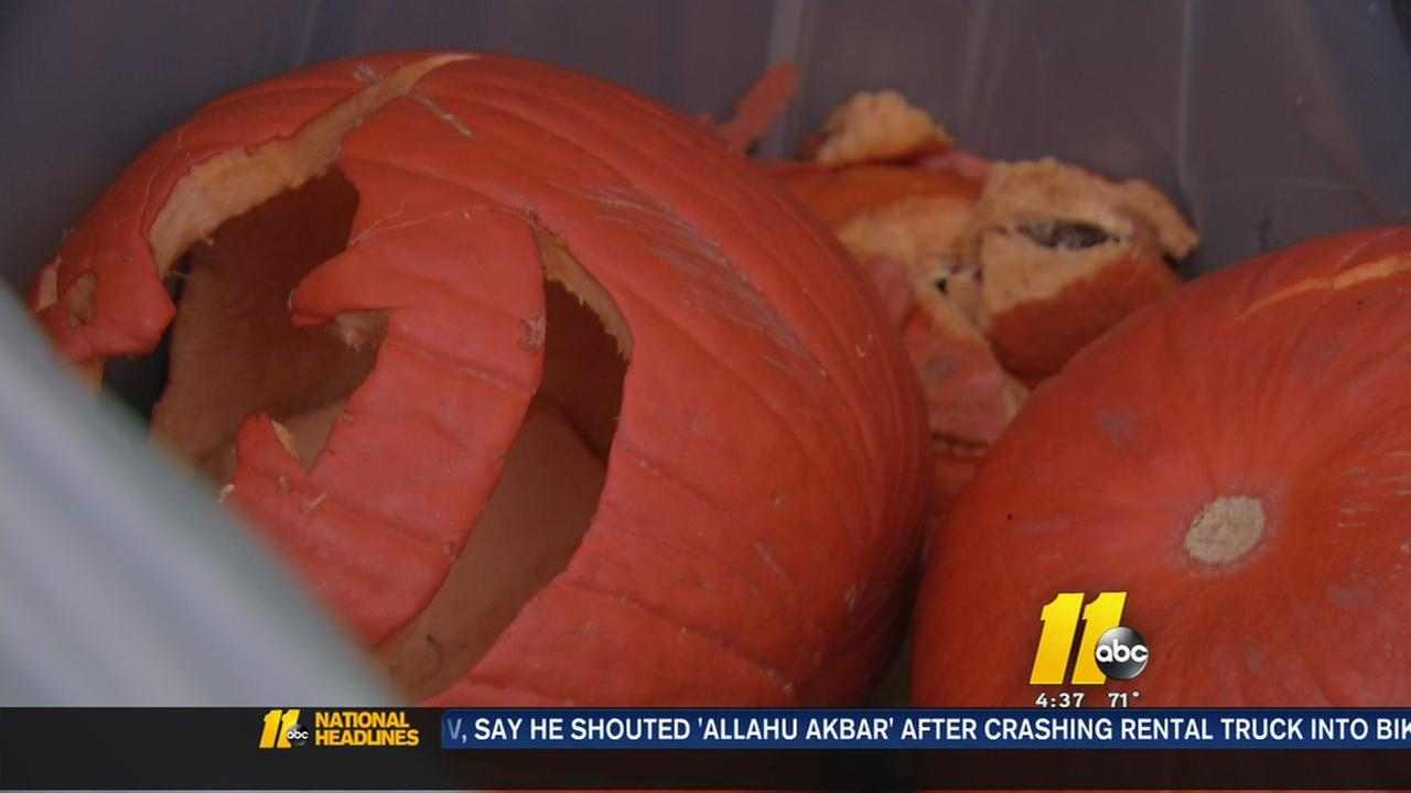What to do with your leftover Halloween pumpkins