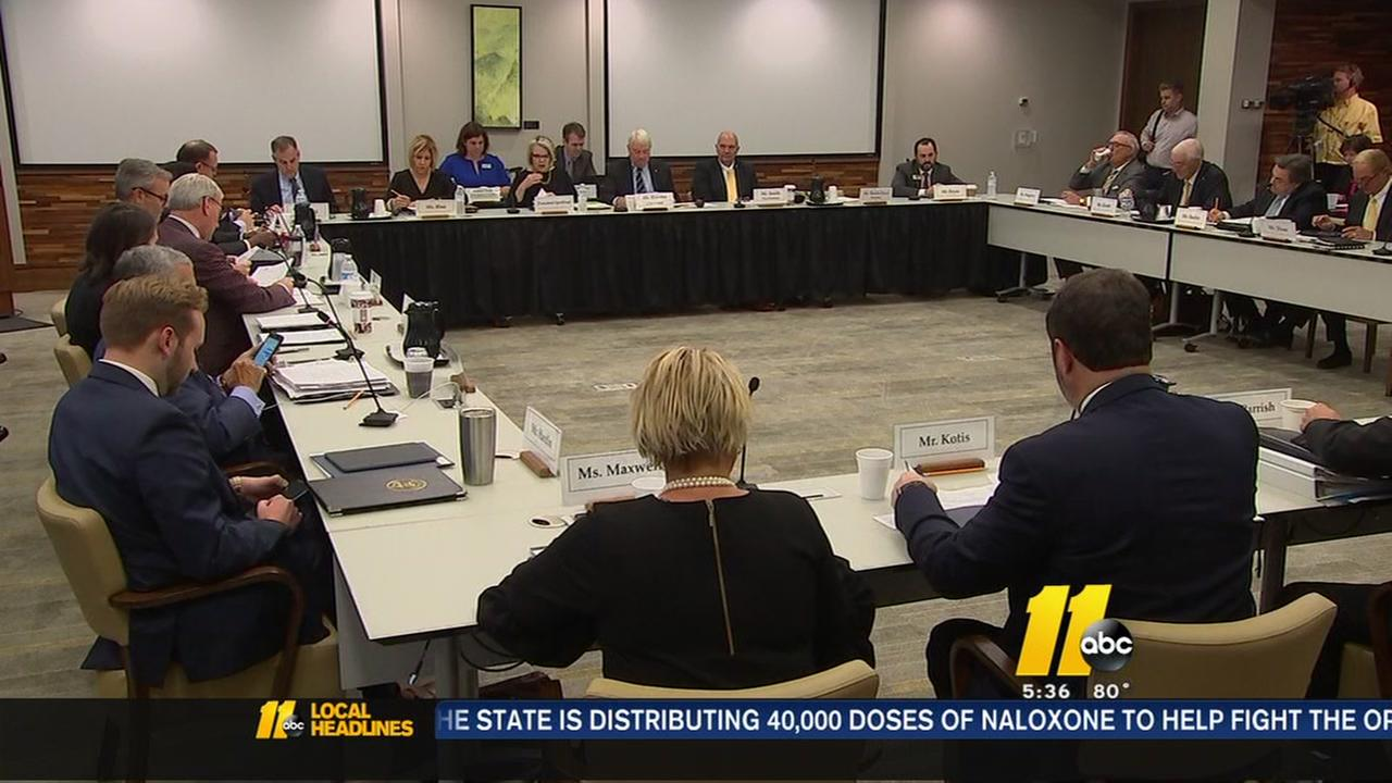UNC Board of Governors move vote on free speech policy