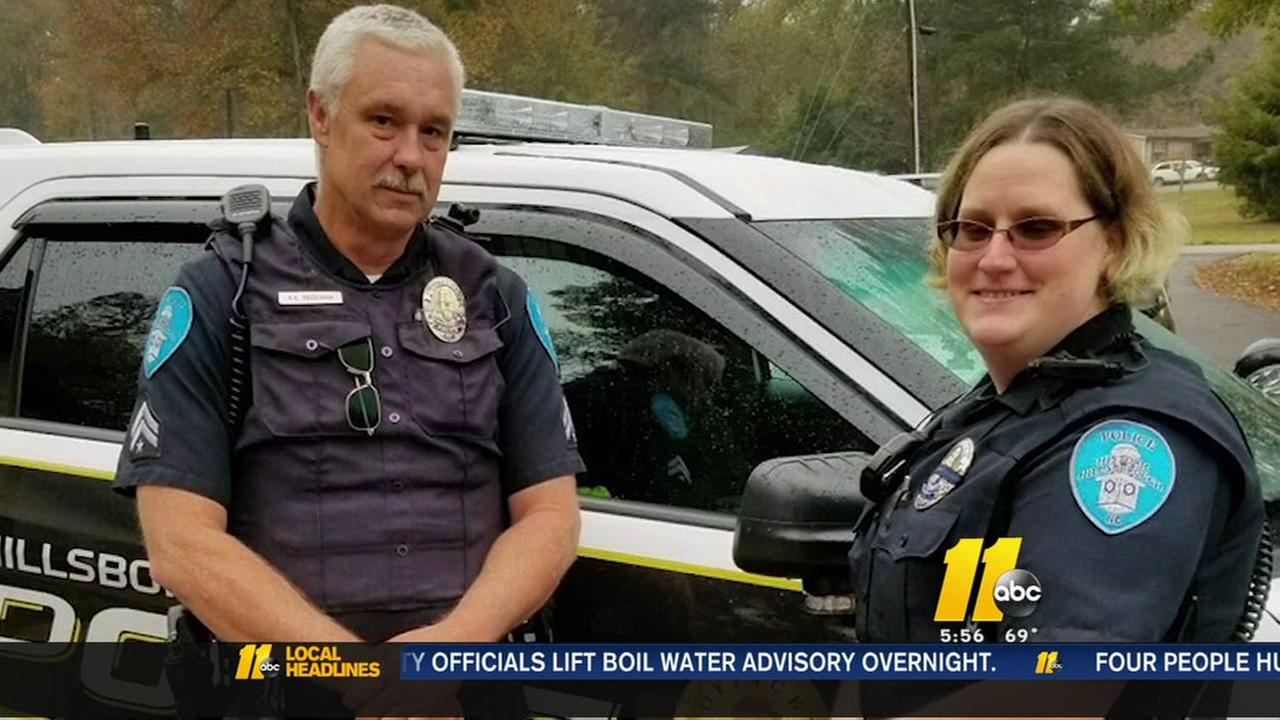 Hillsborough officers step in to help struggling mom