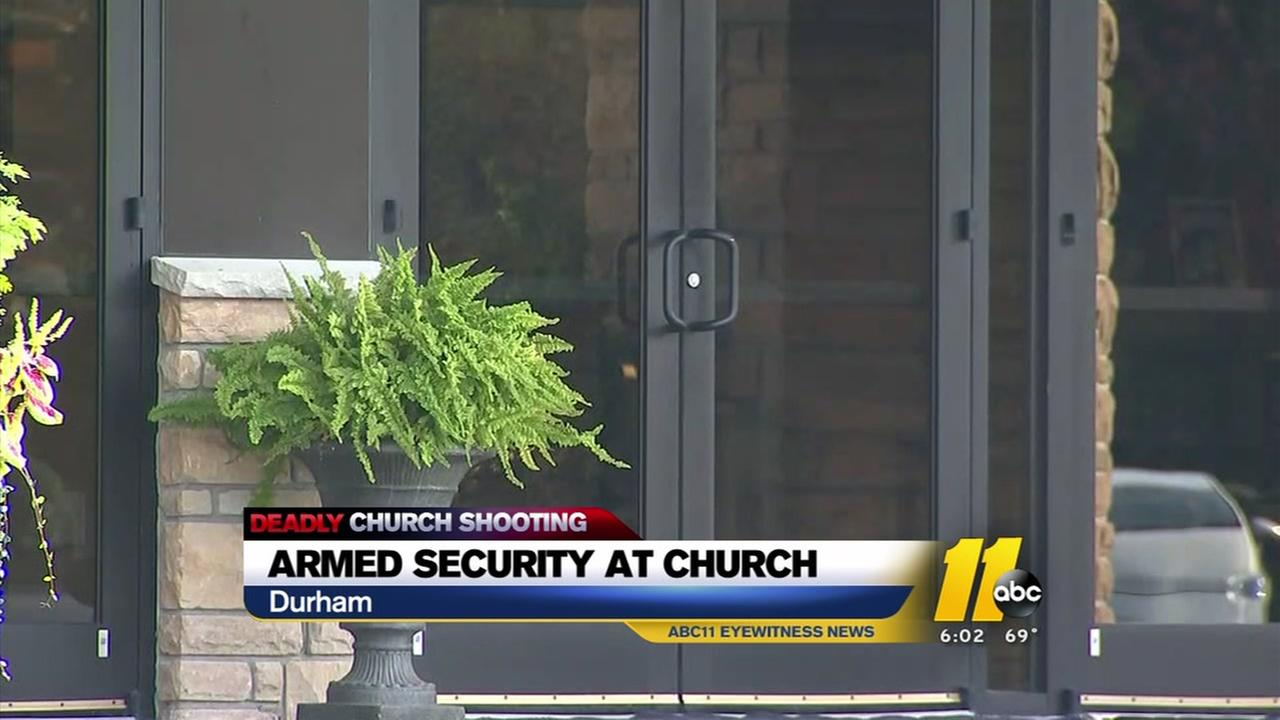 Triangle churches rethink security measures