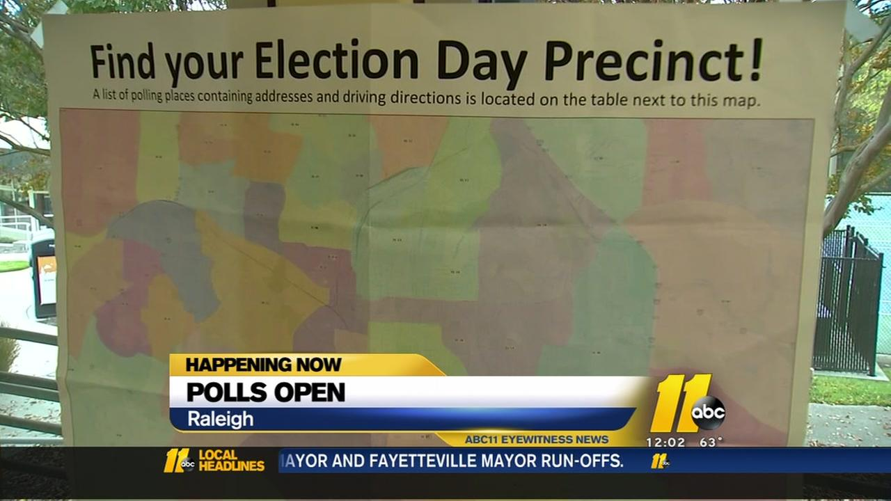 Raleigh, Durham and Fayetteville all choosing mayors