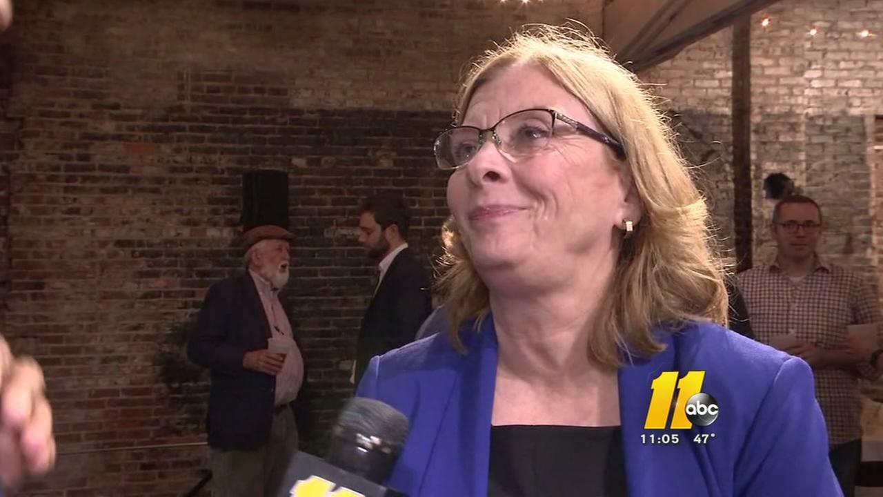 Nancy McFarlane wins re-election as Raleigh mayor
