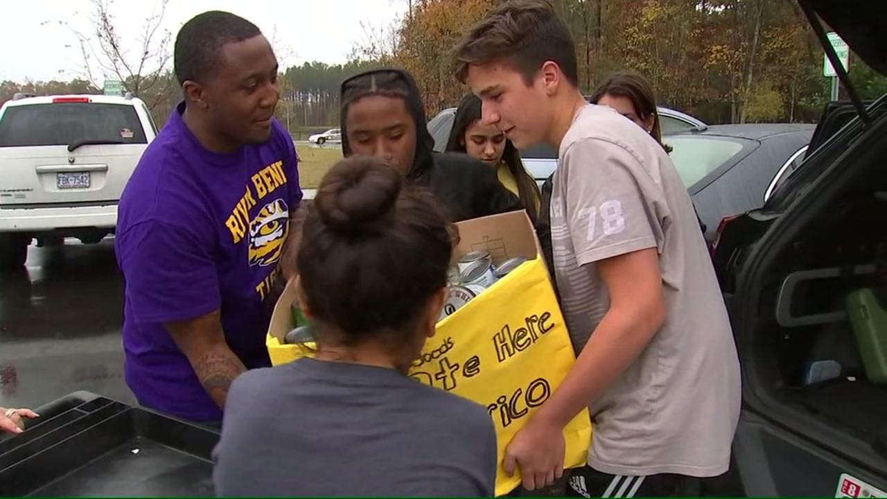 Wake County students rise up to help Puerto Rico