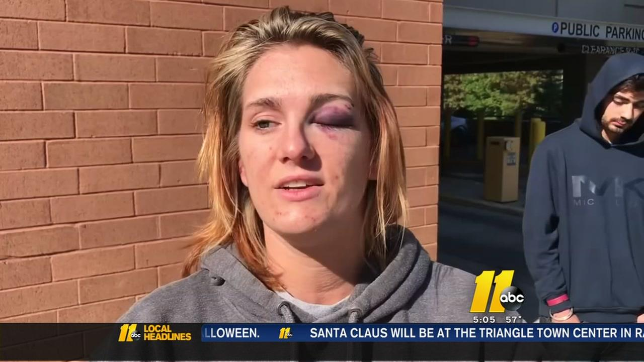 Cary woman explains why she jumped from troopers car
