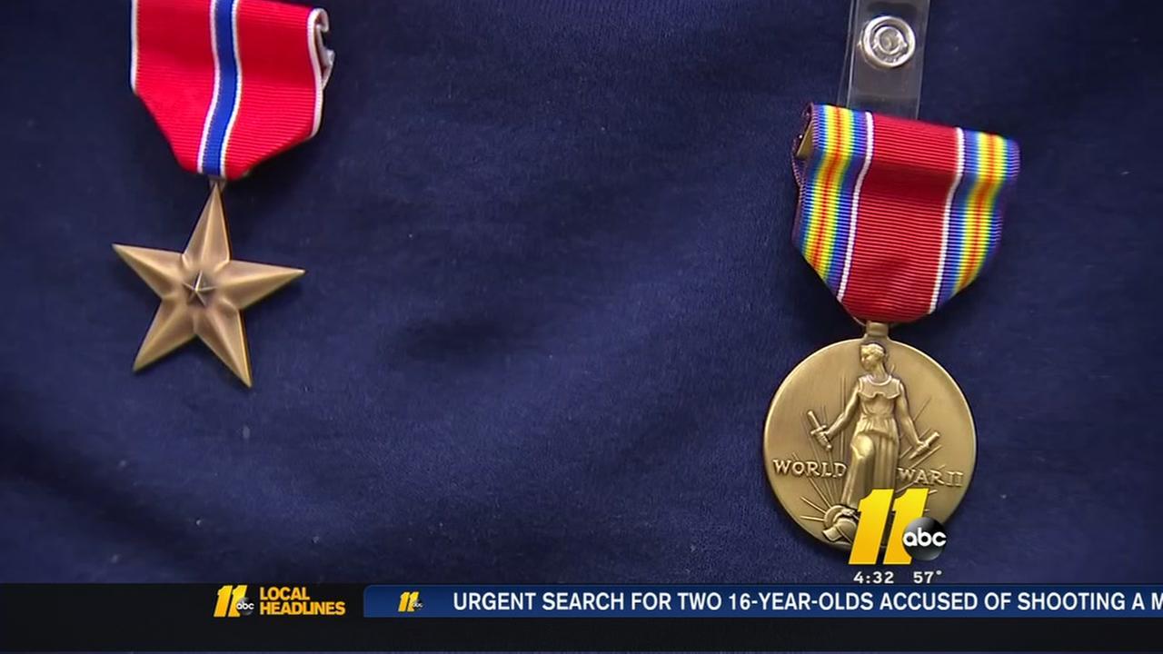 World War II veterans honored