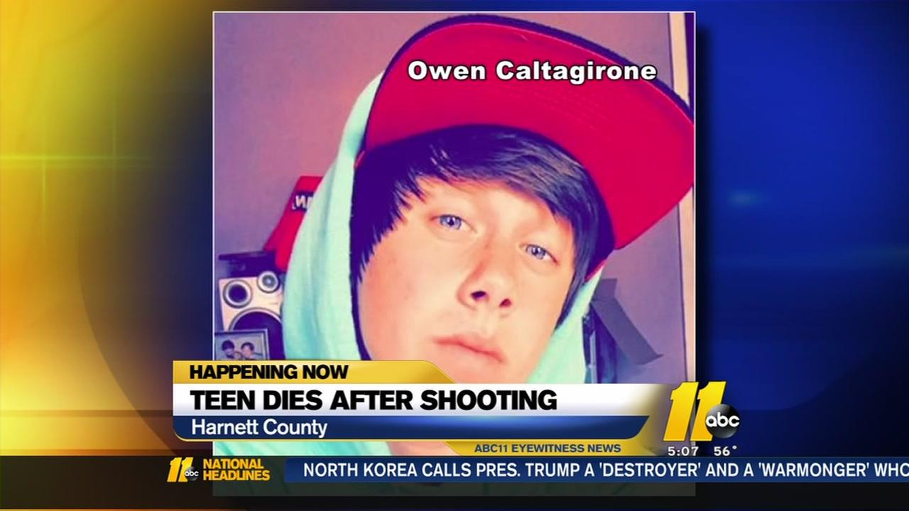 Harnett County teen dies after shooting