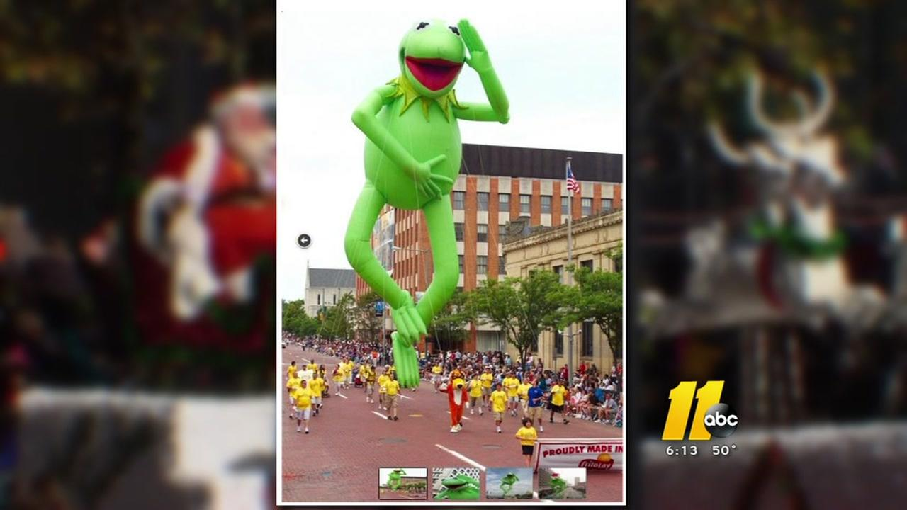 Kermit appearing at Christmas parade thanks to Red Hat