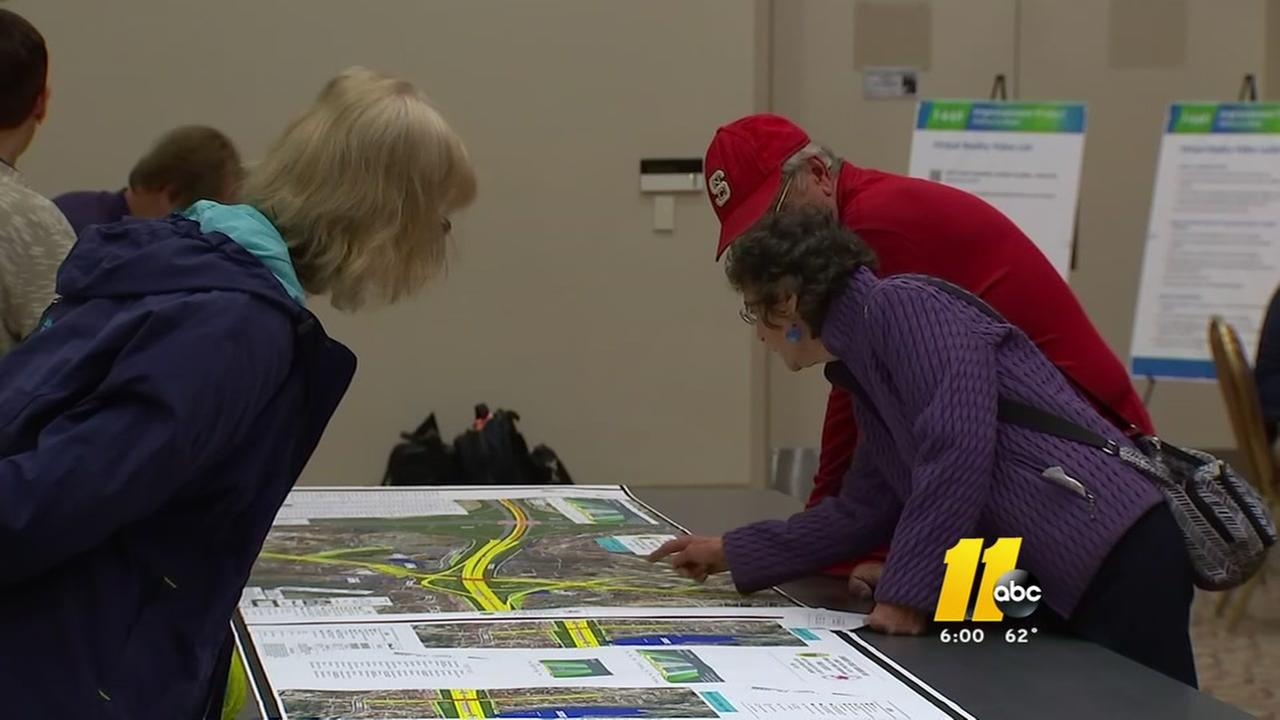 Public takes a look at NCDOT projects