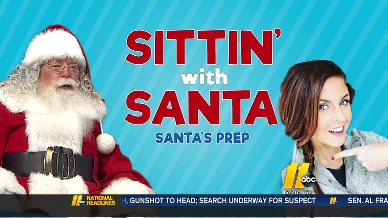 Sittin with Santa