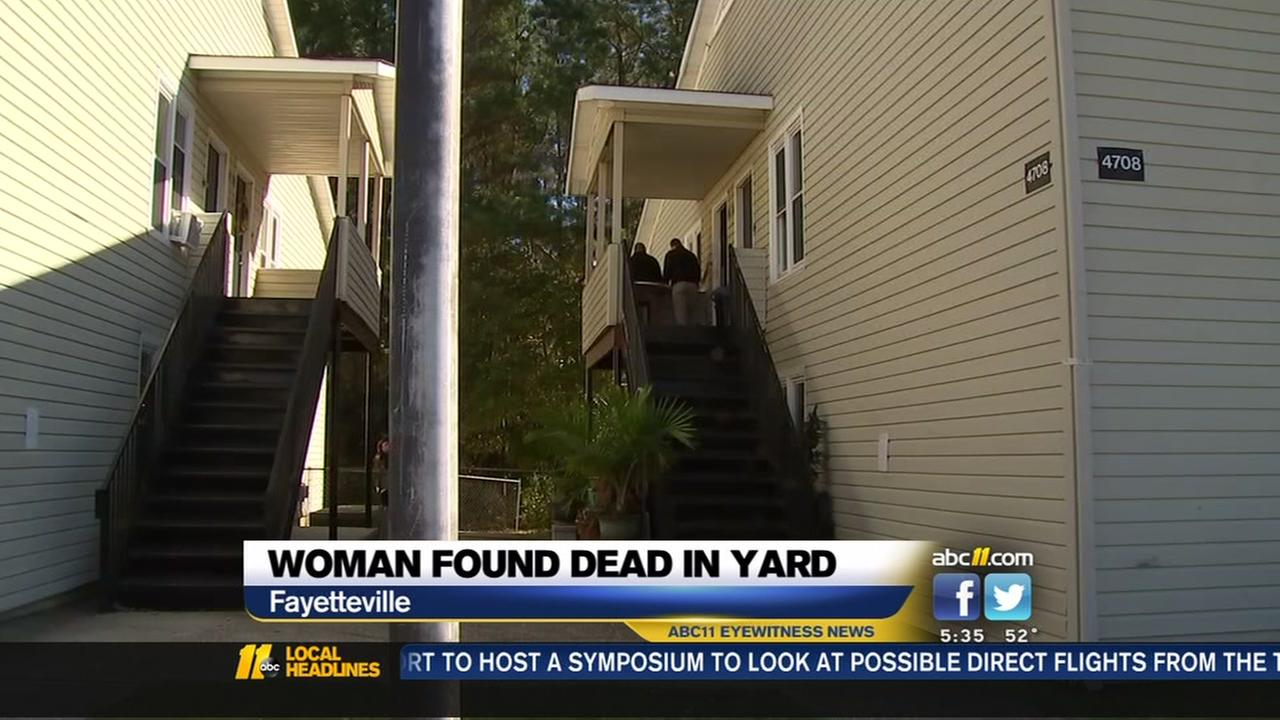 Police investigating body found outside Fayetteville home