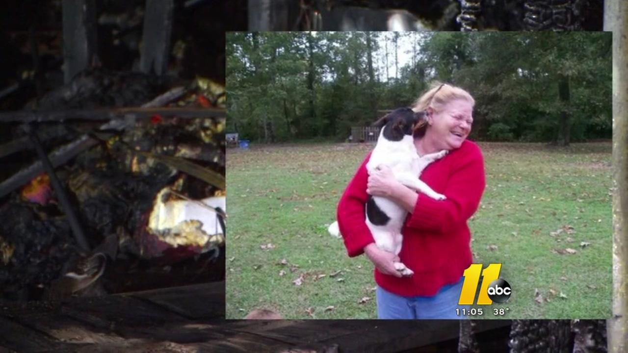 Fire in home claims life of woman, beloved dog