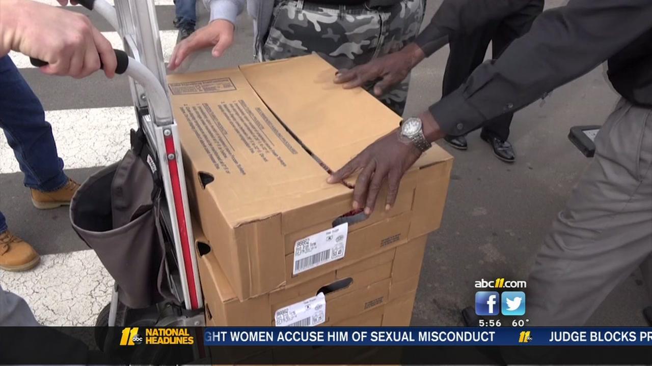 Durham Rescue Mission gets special turkey deliveries