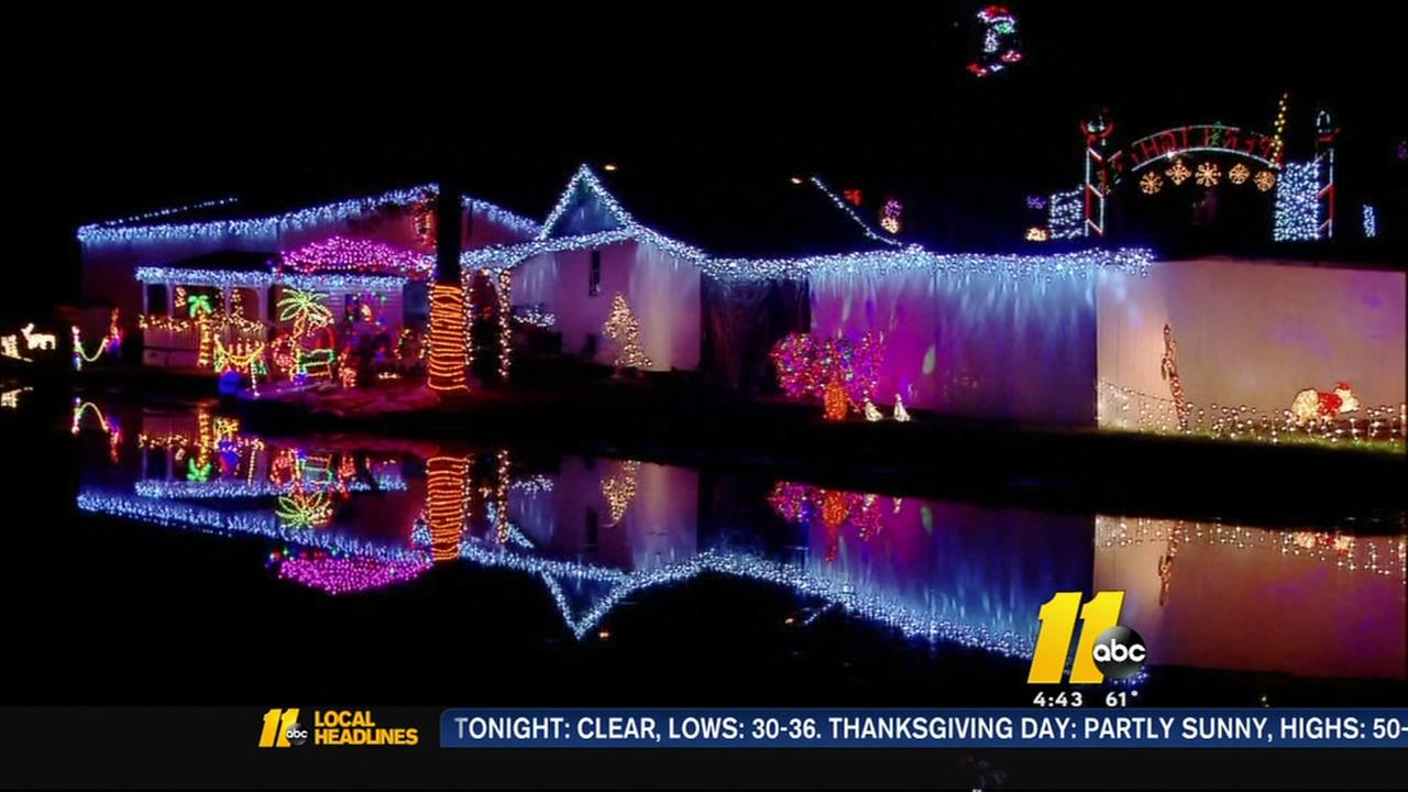 Wake Forest light fight champs ready for light display