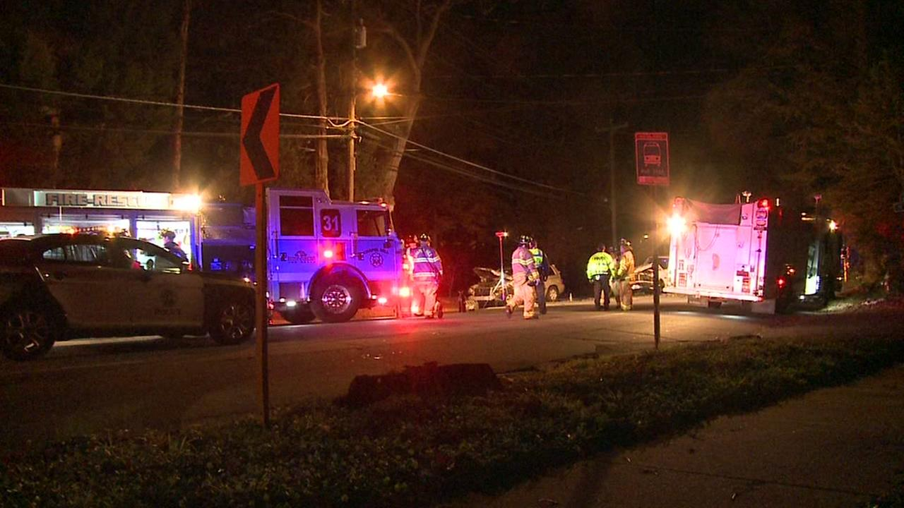 Part of Franklin Street in Chapel Hill is shut down after a serious crash late Wednesday into early Thursday.