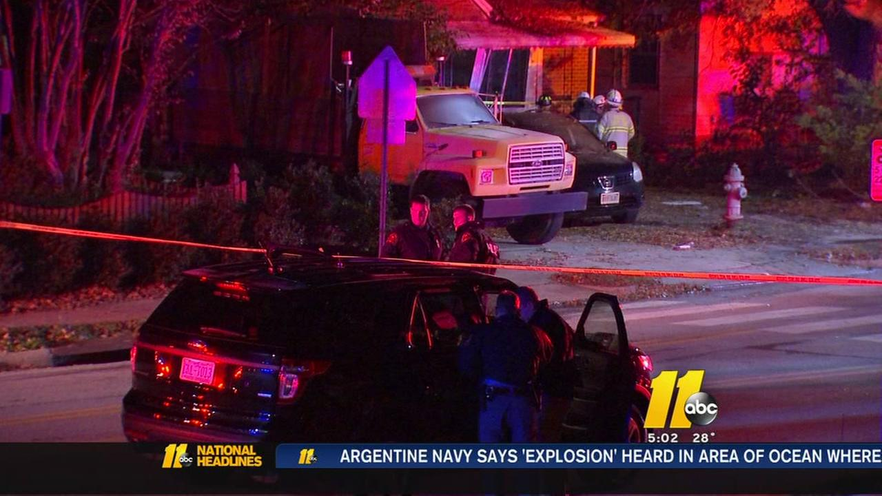 Car plows into Raleigh home killing man inside