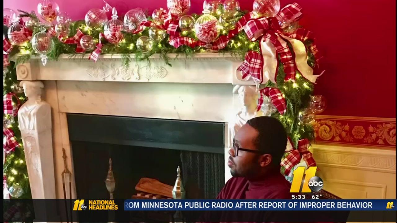 Methodist University student returns to DC to deck the halls of the White House