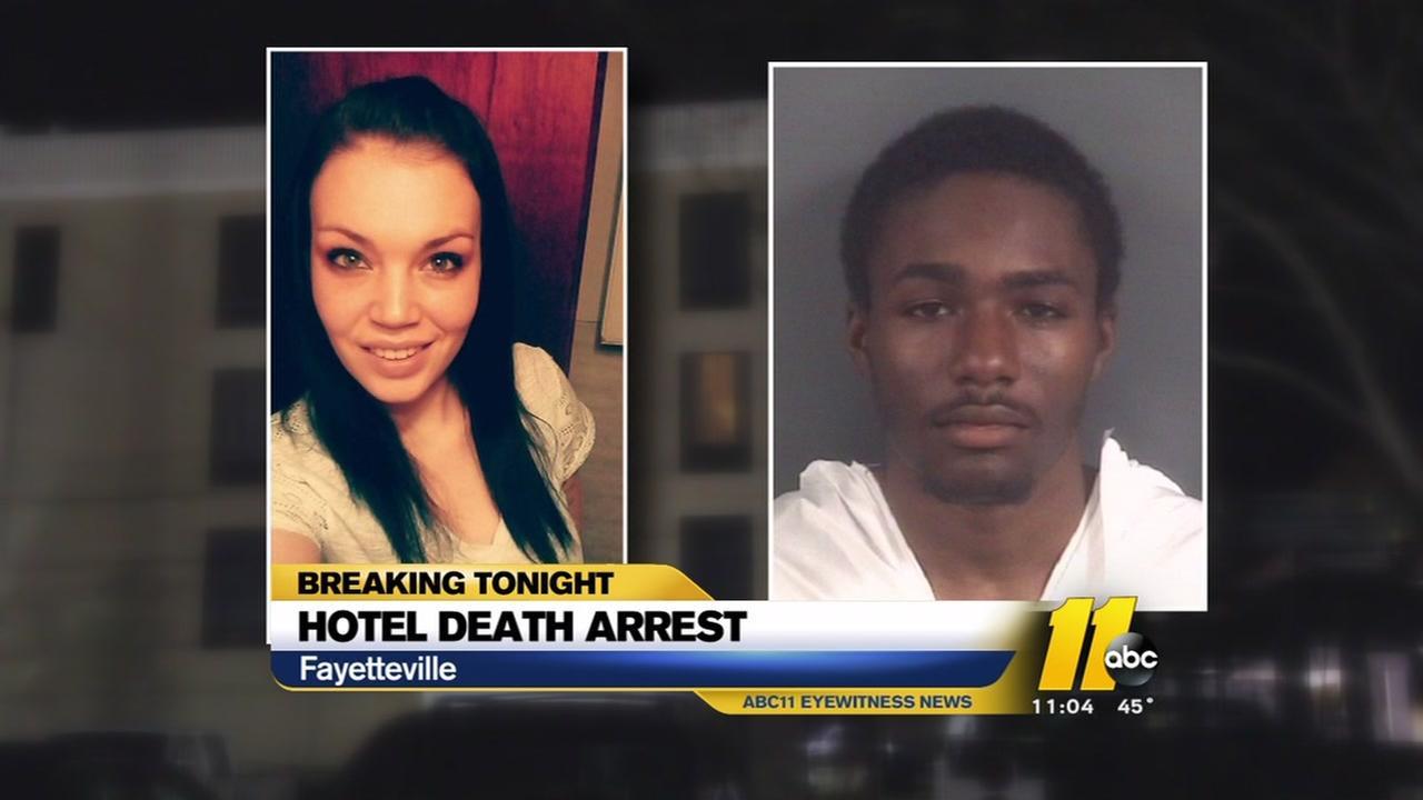 Homeless man arrest, accused of murdering woman inside of a Fayetteville hotel