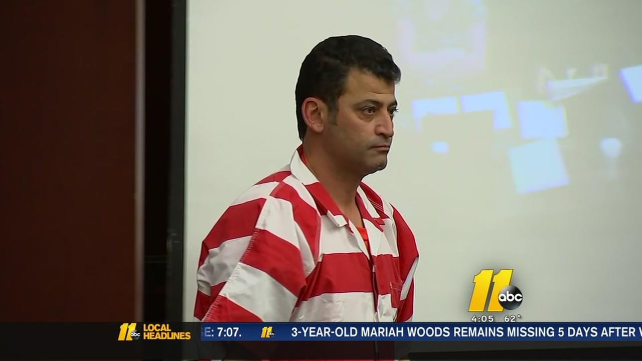 Apex man charged with shooting wife