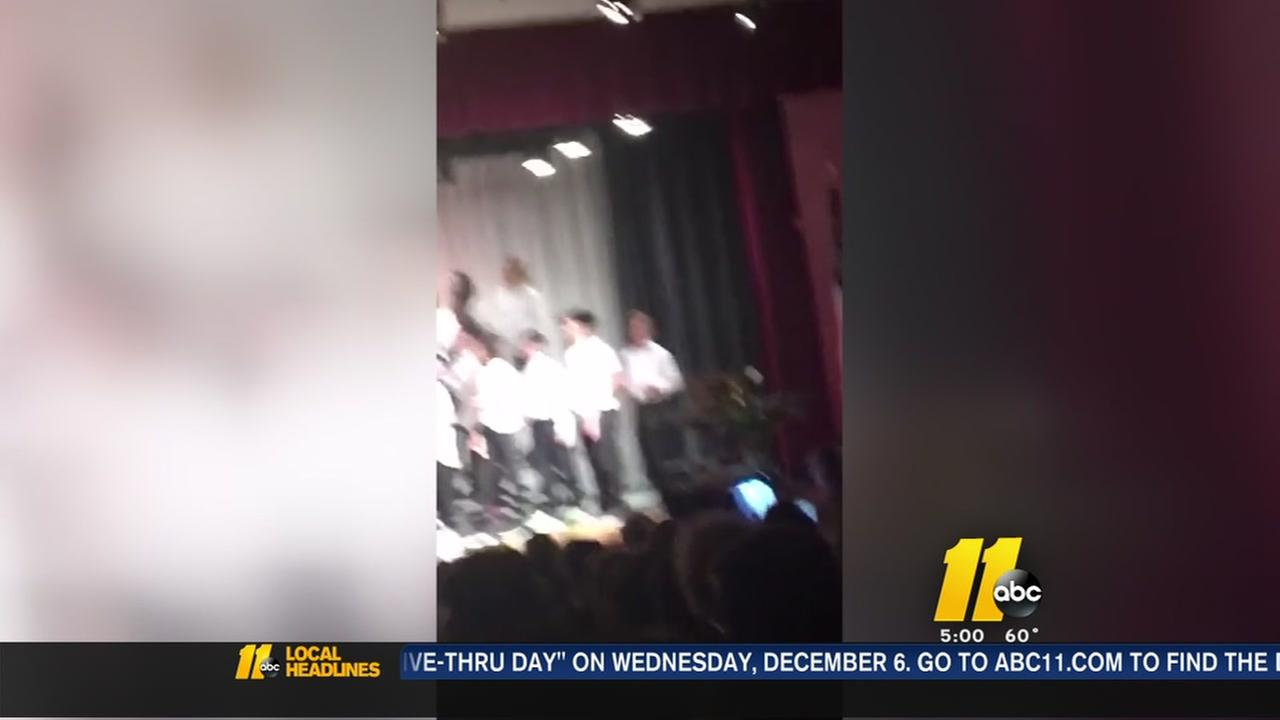 Wake County mom outraged after son suspended for dancing