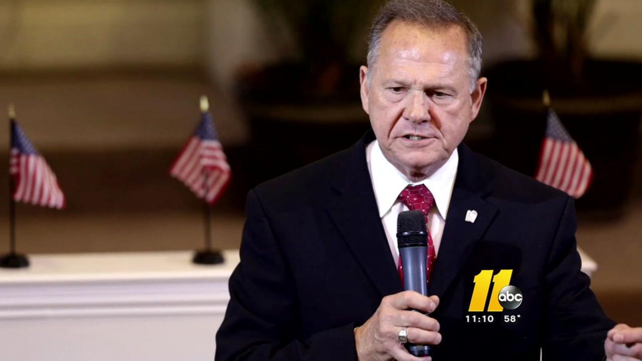 Roy Moores Alabama senate race draws endorsement in NC