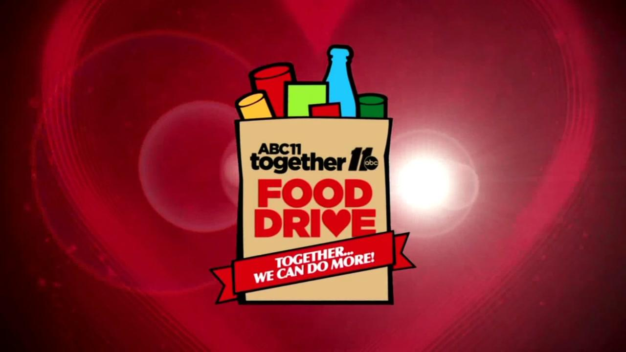 ABC11 Together Food Drive Facts